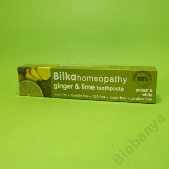 Bilka Homeopátiás fehérítő gyömbér-lime fogkrém 75ml
