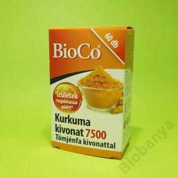 Bioco Kurkuma kapszula Tömjén kivonattal 60db