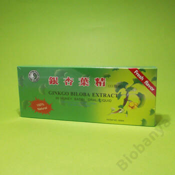 Dr. Chen Ginkgo biloba extrakt ampulla 10x10ml