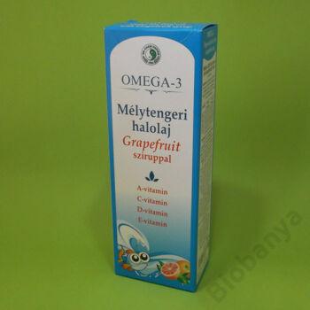 Dr. Chen Omega-3 halolaj grapefruit sziruppal gyerekeknek 500ml