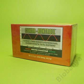 Cukor-kontroll filteres tea 20x2,2g