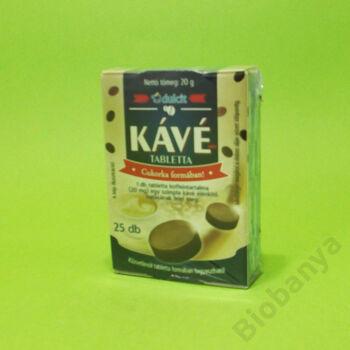 Kávé tabletta 25db