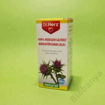 Dr. Herz Máriatövismag olaj hidegen sajtolt 50ml