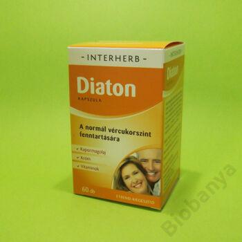 Interherb Diaton kapszula 60db