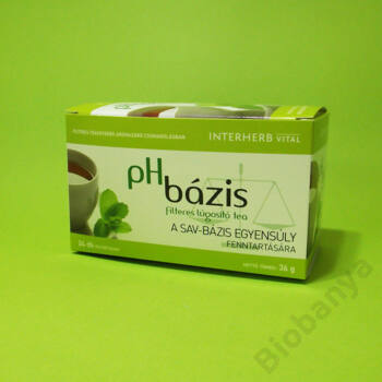 Interherb Ph bázis lúgosító tea 24x1,5g