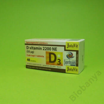 Jutavit D-vitamin 2200NE tabletta 40db
