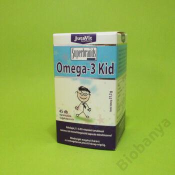 Jutavit Omega-3 Kid lágykapszula 45db