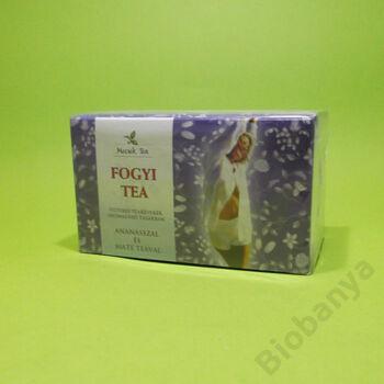 Mecsek Fogyi teakeverék ananásszal és mate teával filteres 20x1g