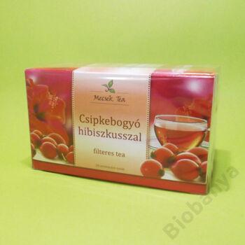 Mecsek Csipkebogyó hibiszkusszal filteres tea 20x2g