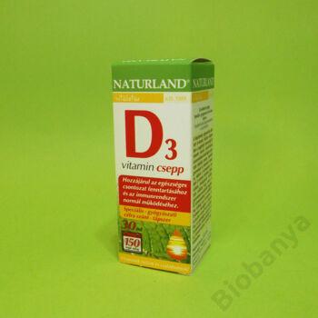 Naturland D3-vitamin csepp 30ml