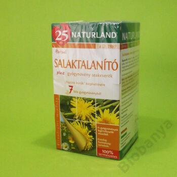 Naturland Salaktalanító teakeverék filteres 20db