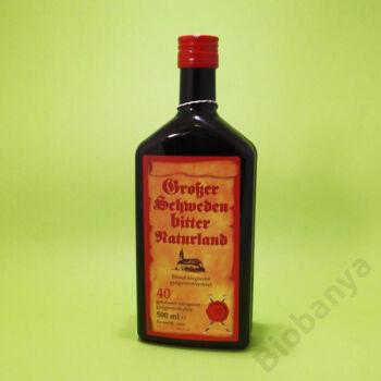 Naturland Svédcsepp 40 gyógynövény 1% alkohol 500ml