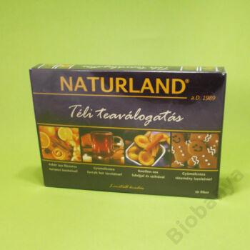 Naturland Téli tea válogatás filteres 30db