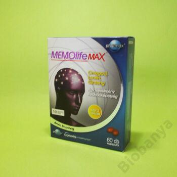Memolife Max kapszula 100db