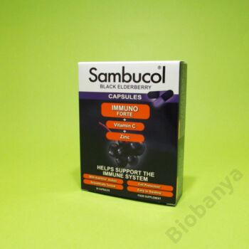 Sambucol Fekete bodzalé kivonat C-vitaminnal és cinkkel 30db