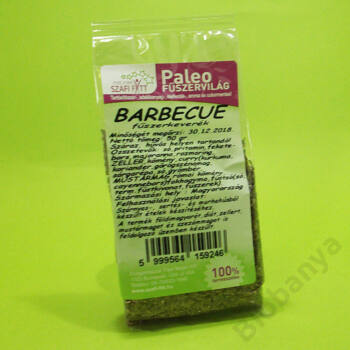 Szafi Reform Paleo fűszervilág Barbecue fűszerkeverék 50g