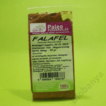Szafi Reform Paleo fűszervilág Falafel fűszerkeverék 50g