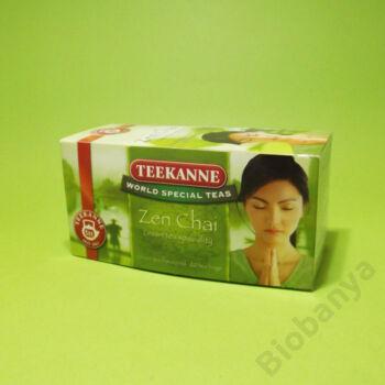 Teekanne tea zöld zen chai 20x1,75g