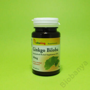 Vitaking Ginkgo biloba 60mg tabletta 90db