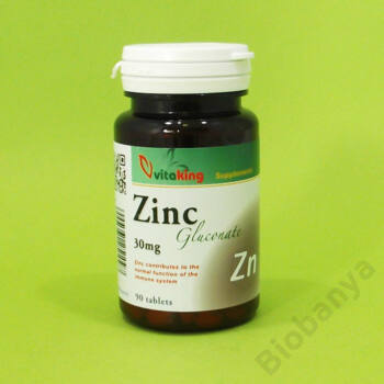 Vitaking Cink 30mg 90db