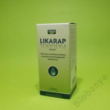 Likarap spray aloe vera és illóolaj tartalmú 50ml