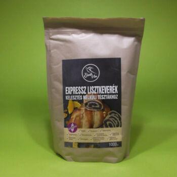 Szafi Free lisztkeverék Expressz Kelesztés nélküli tésztákhoz gluténmentes 1000g