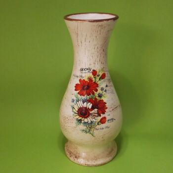 Virágos váza