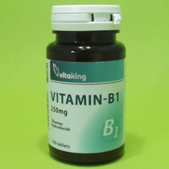 Vitaking B1-vitamin 250mg tabletta 100db